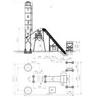 HZS35 Concrete Batching Plant Construction Drawings.