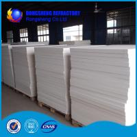 Buy cheap White Heat Resistence high temperature insulation board , ceramic fibre board from wholesalers