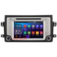 Buy cheap Android 4.4 Two Din Car dvd player SAT NAV For SUZUKI SX4 2006-2012 car gps BT multimeder from wholesalers