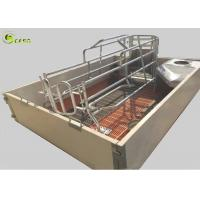 Buy cheap 2400X2400 Pig Farrowing Crate , Stainless Steel Farrowing Crates from wholesalers