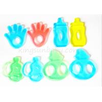 Buy cheap BPA Free Water Filled Silicone Baby Teether Different Shapes Soft Toy ODM / OEM from wholesalers