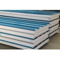 Buy cheap Customized Fireproof Fiber Glass Wool Metal Sandwich Panels For Wall Board from wholesalers