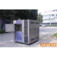Buy cheap Cold & high temperature thermal shock Testing Chamber Machine three zone from wholesalers