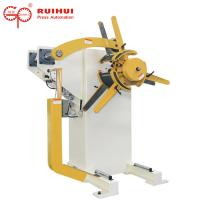 Buy cheap Manual Or Pneumatic Hydraulic Steel Decoiling Machine For Coil Material Feeding from wholesalers