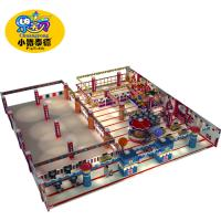 Shopping Centers Toddler Indoor Play Equipment , Commercial Childrens Soft Play Equipment