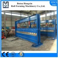 Buy cheap Colored Steel Hydraulic Plate Bending Machine , 4 Meter Sheet Bending Machine from wholesalers