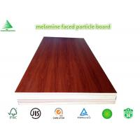 Buy cheap New design wood grain wholesale cheap E0/CARB P2 4'X8' melamine laminated particle board from wholesalers