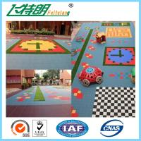 Buy cheap Sports Recycled Rubberized Floor Tiles Polypropylene Interlock Flooring from wholesalers
