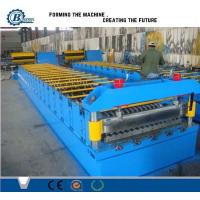 Buy cheap Automatic Metal Steel Panel Roof Sheet Roll Forming Machine Roof Tile Making Machine from wholesalers