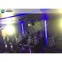 Buy cheap Customizable Arc Screen 5D Cinema Equipment Rides Cabin For Game Zone product