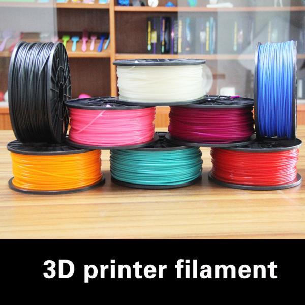 Quality 3D Printing PLA , 1.75mm Luminous Yellow 3D Printer PLA Filament for sale