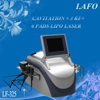 Buy cheap 2015 HOTTEST!! Portable Cavitation RF Lipo Laser Machine For Sale from wholesalers