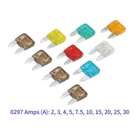 Buy cheap Stock Available Littelfuse 297 Series 32V Fast-Acting Automotive Mini Auto Blade Fuse 2A 3A 4A 5A 7.5A 10A 15A 20A 25A from wholesalers