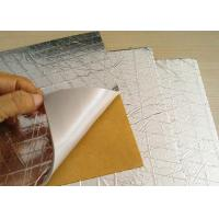 Buy cheap Foam Grey PE Heat Insulation Mat PET Surface Roof Sound Insulating Materials 10mm from wholesalers