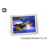 Buy cheap Flip Image 3D Wolf Picture , Dolphin 3D Animal Pictures Wall Decoration Art from wholesalers