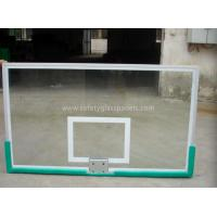 Buy cheap Custom Printed  Basketball Backboard  ,Tempered Glass Basketball System from wholesalers