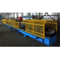 Buy cheap High Efficiency Cr 12 Mould Steel Roll Forming Machine , 1.5 inch Single Chain Drive from wholesalers