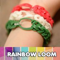 Buy cheap DIY rainbow loom rubber bands from wholesalers