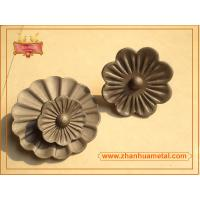 China hot stamped flower and leaves,ornamental flower and leaves,cast iron flower and leaves on sale