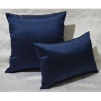 Buy cheap 100% Cotton Pillow Cushion Covers Navy Blue Decorative Pillows 30x40cm from wholesalers