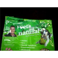 Buy cheap Eco Friendly Pet Food Packaging Bag , 12.5 X 19 #6 Vinyl Dog Food Green Bag from wholesalers