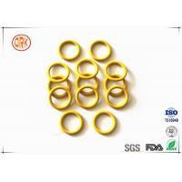 Buy cheap Yellow Waterproof Silicone O Ring Seal High Temperature Resistance For Electronic from wholesalers