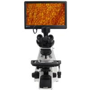 Buy cheap Biological Compound Video Digital Microscope / 12.5 Lab Trinocular Profesional Pantalla Lcd Microscope product