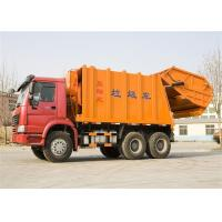 Buy cheap 16m3 Garbage Collection Trucks With Double Vane Pump 6x4 Drive Type from wholesalers