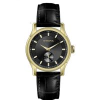 Buy cheap Black OEM Round Shape Classic Automatic Watch CD Pattern Mineral Glass from wholesalers