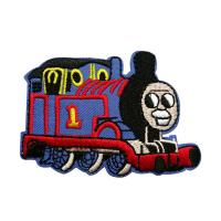 Buy cheap Customer's Logo Thomas Locomotive Sublimation Wonder Woven Patch 100% Embroidery from wholesalers