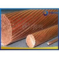 Buy cheap High Reliability Soft Drawn Copper Wire For Overhead Transmission / Distribution from wholesalers