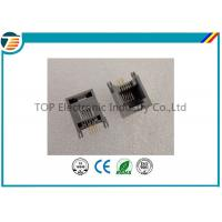 Buy cheap RJ45 Terminal Block Connectors 6P4C Gray with filter 1x1 Port from wholesalers