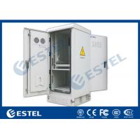 """Buy cheap Air Ventilation Outdoor Power Cabinet With One Battery Shelf / 20U 19 """" Rack from wholesalers"""