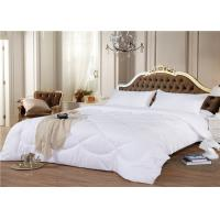 China 3 ~ 5 Star Hotel Bedding Duvet 330GSM 60S Goose White Color Customize Size on sale