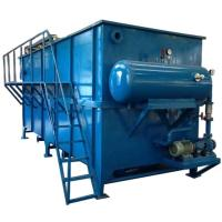 Buy cheap Steel DAF Dissolved Air Flotation Equipment For Textile And Leather Factory Sewage Treatment Plant from wholesalers