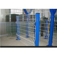 Buy cheap High Strength Steel Wire Metal Fence , 3D Bending Wire Mesh Garden Fence Panels from wholesalers