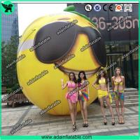 Buy cheap Fruits Festival Event Inflatable Model Giant Inflatable Lemon Model/Sunglasses Advertising from wholesalers