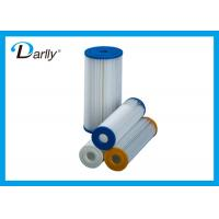 Buy cheap 20 inch PP Disposable Pleated Filter Cartridge 10 Micron For Filtration from wholesalers