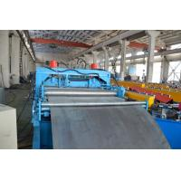 Buy cheap Color Customized Chain Drive Economic Cable Tray Roll Forming Machine Hydraulic Punching from wholesalers