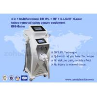 Buy cheap Multifunction 4 in 1 Tattoo Removal Hair Removal Elight IPL RF ND Yag Laser Machine from wholesalers