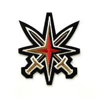 Buy cheap Washable Non - Toxic Custom Embroidered Patches Embroider Thread Patches from wholesalers