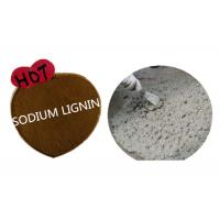 Buy cheap Raw Material sodium lignosulfonate msds SLS MN For Construction Ceramics and Carbon Black COA from wholesalers