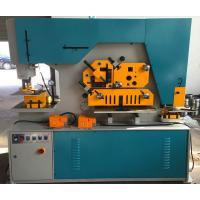 Buy cheap Duoble Cylinder Q35 Series Hydraulic Ironworker 90T Cut Round Bar from wholesalers