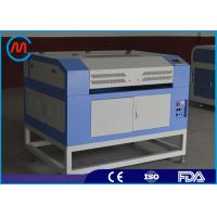 Buy cheap 60w Small Plastic Laser Cutting Machine Blade Table Sealed Co2 Glass Tube from wholesalers