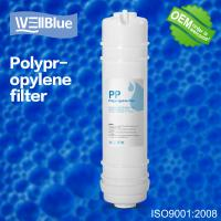Buy cheap 5 Micron Sediment Ro Water Purifier Filter , PP Melt Blown Filter Cartridge from wholesalers