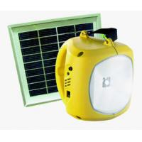 Buy cheap Portable Solar Lantern With Mobile Phone Charger from wholesalers