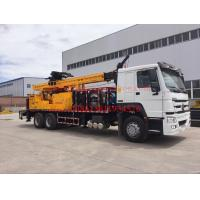 Buy cheap Rotary borehole drilling rig , 600m drilling capacity well drilling machines JKCS600 from wholesalers