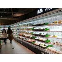 Buy cheap Upright Commercial Supermarket Refrigerated Multideck Showcase with LED Lighting Customerized Color from wholesalers
