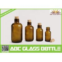 Buy cheap High Quality Amber Cork Pharmaceutical Glass Bottles Brown Color product