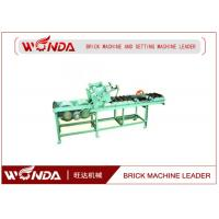 Buy cheap Soild Pneumatic Pushing Automatic Cutting Machine 0.7KW In Red Block Line from wholesalers